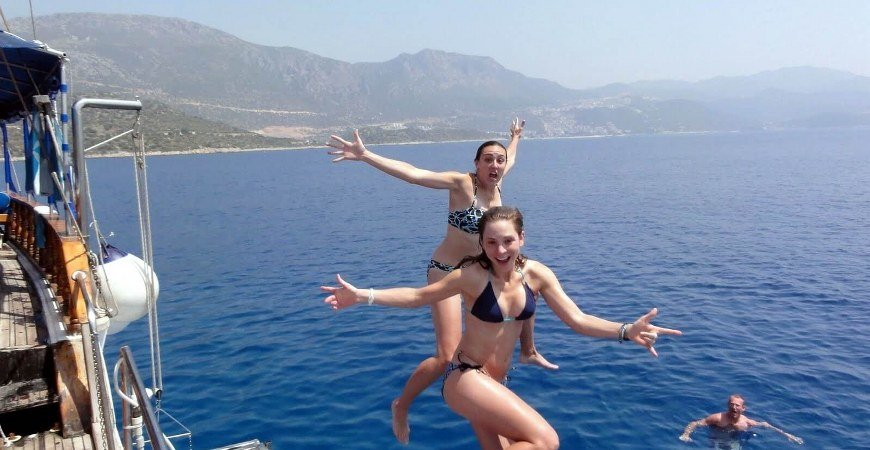 Blue Cruise Fethiye to Olympos Cabin Charters