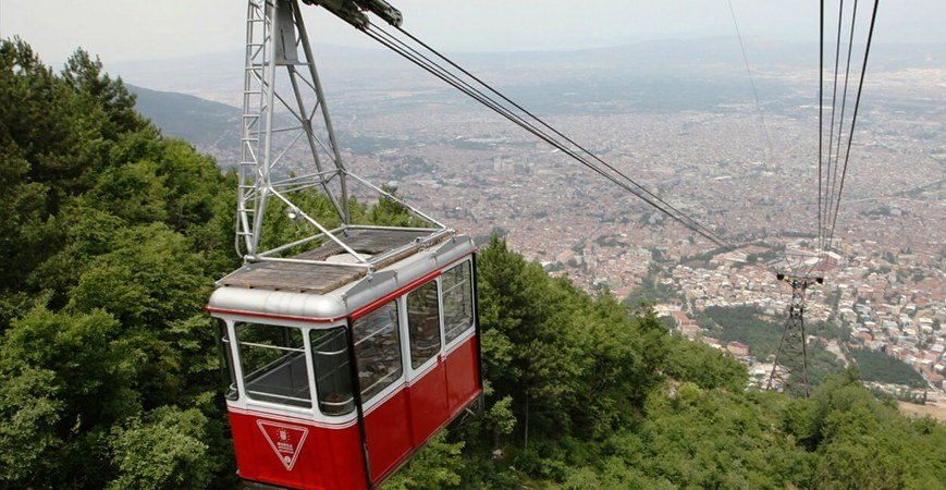 Bursa Tour from Istanbul Included Cable Car