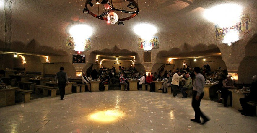 Whirling Dervish Show Hodjapasha Istanbul