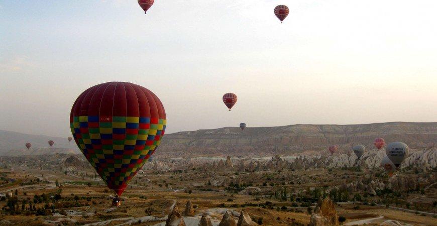 hot air balloon flight - photo #20
