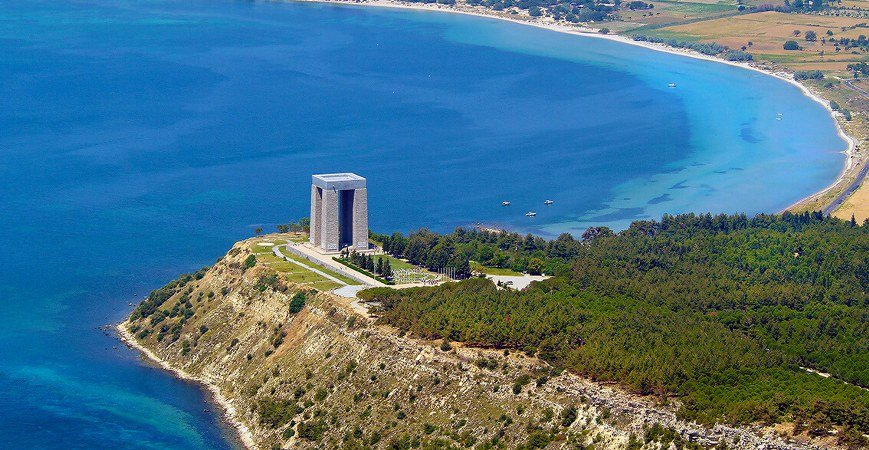 Troy Gallipoli Campaign Cape Helles and Anzac Sights