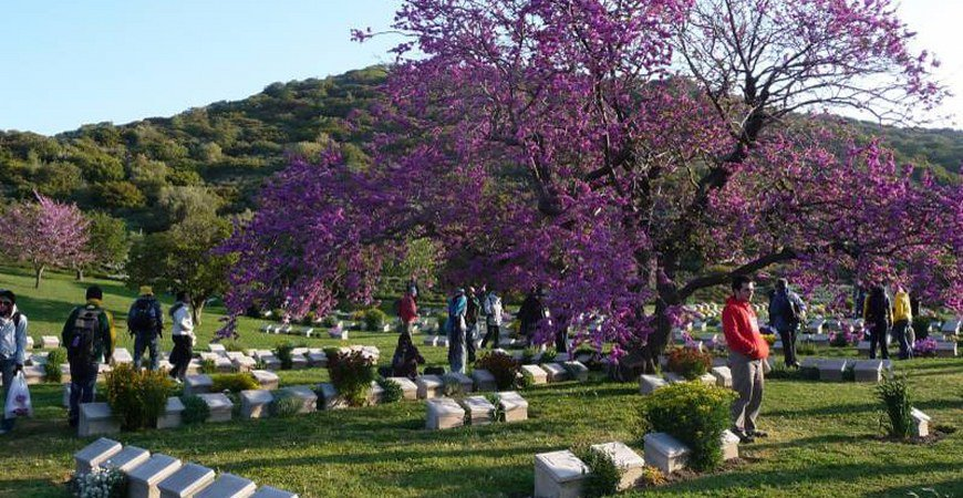 Istanbul to Samos Island Greece via Gallipoli Troy Pamukkale & Ephesus