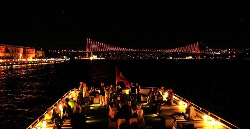 New Year Bosphorus Dinner Cruises Istanbul