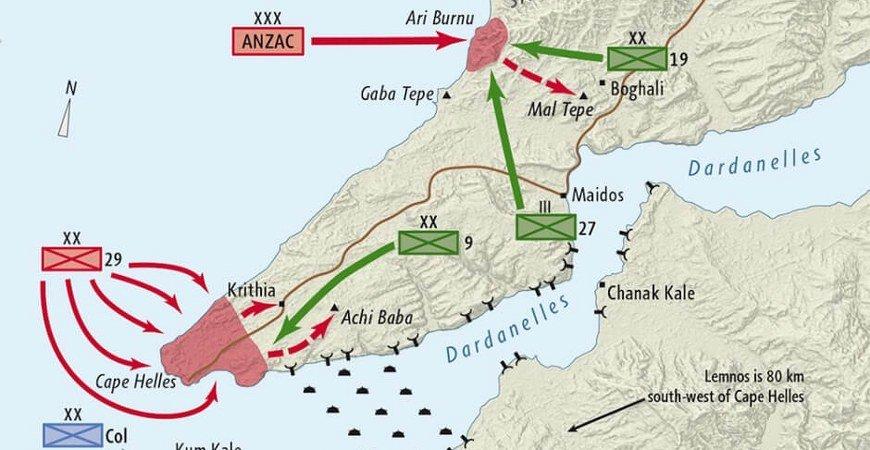 Gallipoli Cape Helles & Anzac Regions Tour From Canakkale
