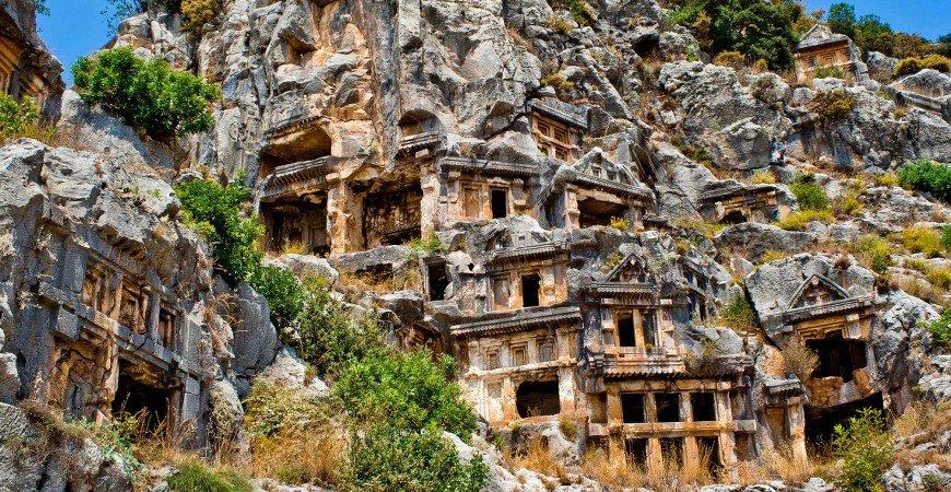 Myra Kekova & Demre Tour from Antalya