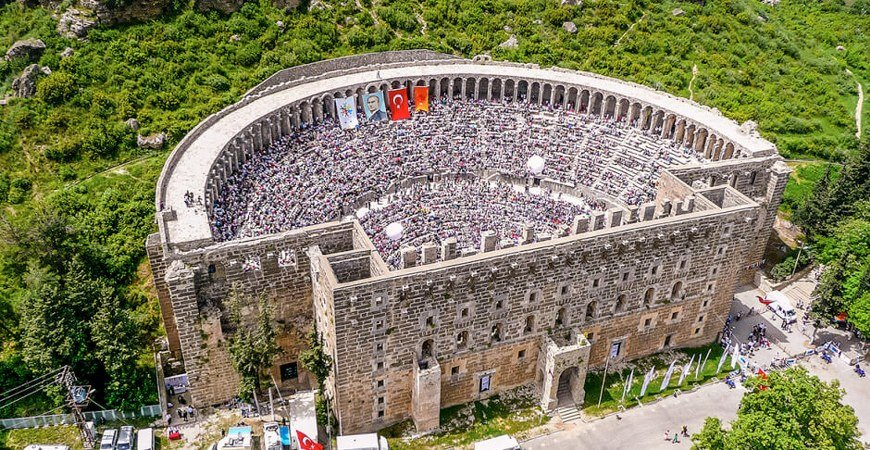 Perge Aspendos & Side Ancient Cities Tour