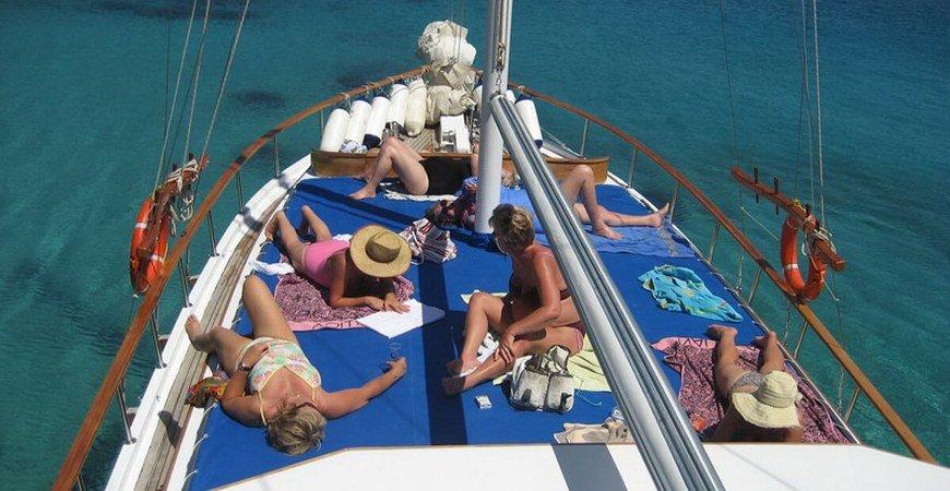 8 Days Ephesus Pamukkale Tours and Fethiye Blue Cruise