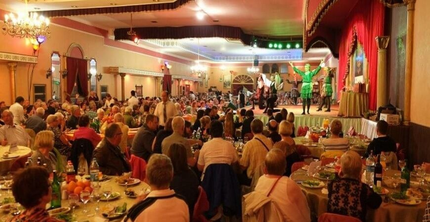 Gar Music Hall New Years Eve Dinner & Show in Istanbul