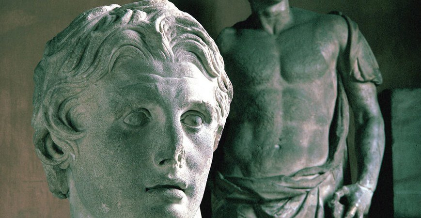 Head Of Alexander in Istanbul Archaeological Museums