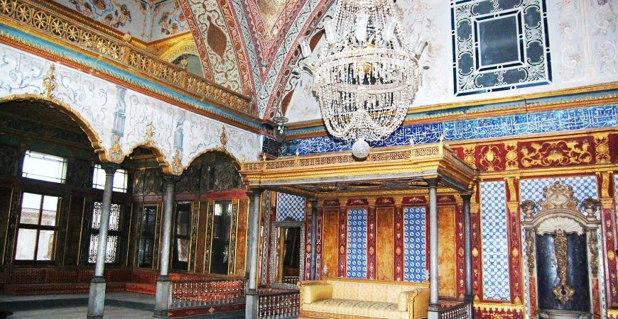 Nadir Shah's Throne In Topkapi Palace Museum