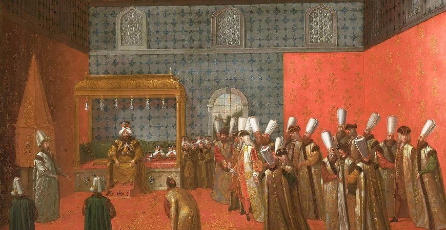The Artist Levni And His Works in Topkapi Palace Istanbul