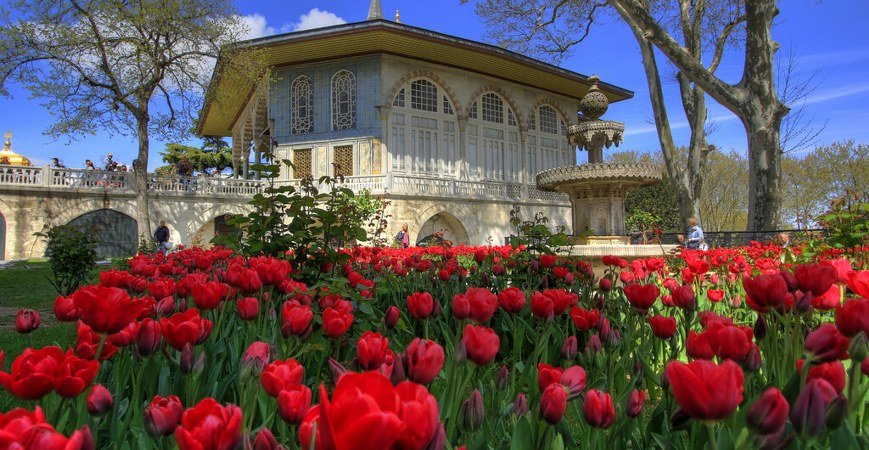 The Flowered Shield Topkapi Palace in Istanbul
